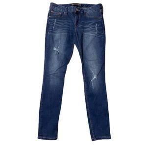 Express low rise jean legging 4s